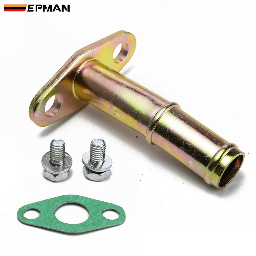 Epman набор для слив масла из турбины, комплект для обратных трубок для турбонаддува GT25 GT28 GT30 GT35 с шариковым/дневным подшипником, ephov1035