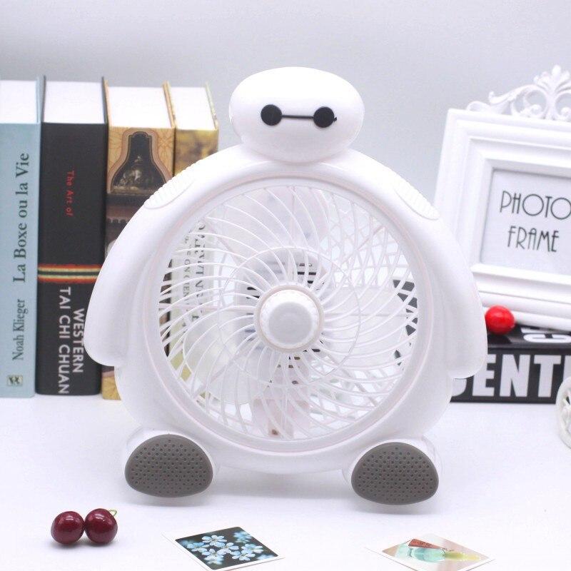 Mini Desktop Fan 3 Blades Silent Desk BayMax JSD-190K Home Air Cooling Blower Portable Clip-on Table Fan люстра mw light селена 482015708