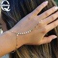 Простой ювелирные изделия блестки браслет ведомого браслеты & браслеты для женщин