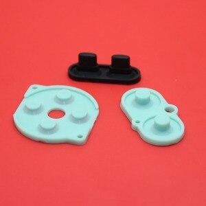 Image 4 - 2 10 jeux pour Nintendo jeu garçon couleur/couleur bouton Silicone caoutchouc Pad conducteur A B Select Start caoutchouc bouton pour GBC