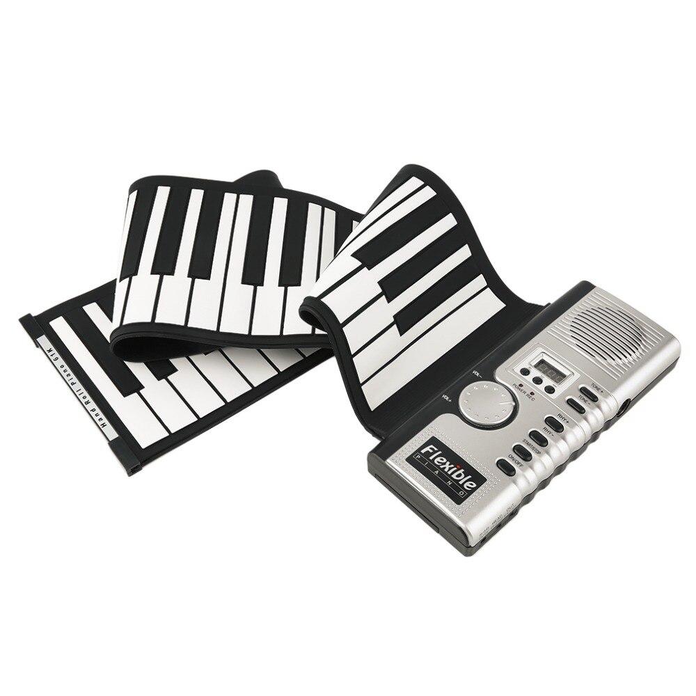 новый портативный 61 клавиши универсальный гибкая засучить электронная пианино клавиатуры пианино наивысшего качества
