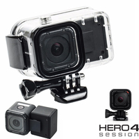 Gopro Hero 4 Session Extension Waterproof Housings GoPro Hero4 Session External Backup Battery Clip Batteries For