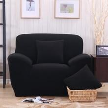 Black Sofa Cover/fabric Cover Sofa Slipcover Stretch Fabric L Shaped Sofa  Cover Single Double