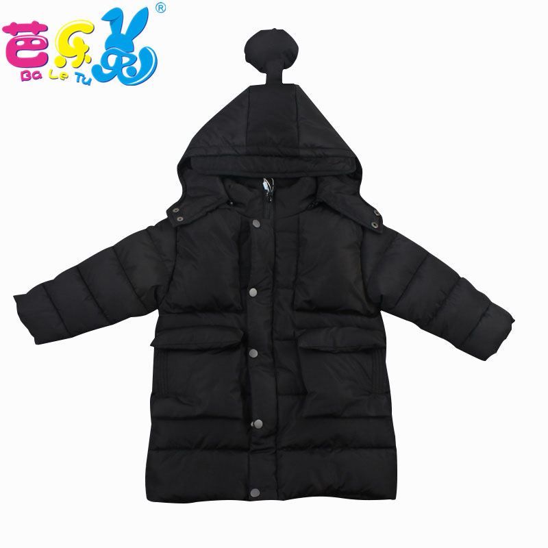Baby Girl Winter Jacket Coat 2018 Long Section Down Cotton Jacket Slim Thicker Warm Children's Clothing Kids Winter Jacket Girls