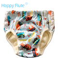 HappyFlute Big Training Pants for Toddler with sewn snaps, PUL outer,bamboo terry inner with sewn insert,for 2-5 years old baby