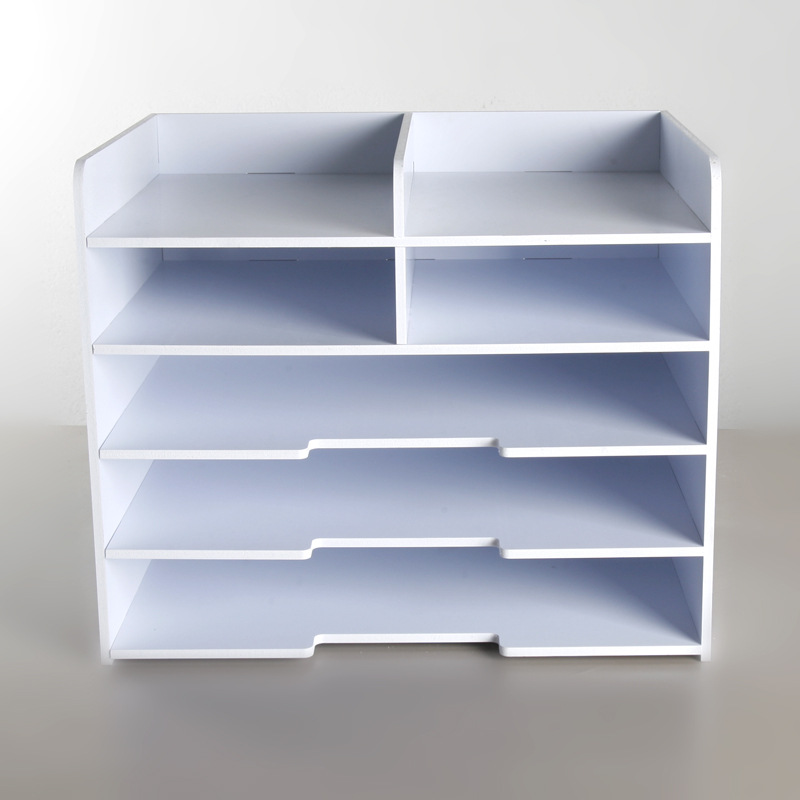 Simple Fichier Plateau Multi-fonction Rack Fichier Bureau Fournitures De Bureau Boîte De Rangement A4 A5 Factures Support de Gestion de Données