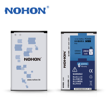 100% Original NOHON 2800mAh High Capacity Battery For Samsung GALAXY S5 SV G9006V G9008V G9009D G900 Replacement Batteries