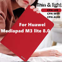 Funda de piel sintética para Huawei Mediapad M3 lite 8 CPN-L09 CPN-W09, funda para Tablet, Huawei Mediapad m3 lite 8,0