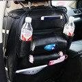 PU de Couro Do Assento de Carro de Volta Saco Organizador De Armazenamento Suporte Do Telefone Multi-Bolso Estiva Tidying