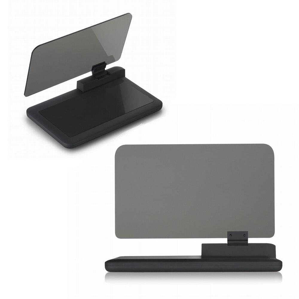 H6 Smartphone Projector font b GPS b font Navigation Anti slip HUD display Holder Smartphone