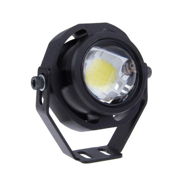 KEIN 1000LM 10W Xenon White auto Car DRL Eagle Eye Light LED Fog Lights Daytime Running Light waterproof Vehicle Lamp high power daytime running driving light eagle eye drl car lamps condenser lens for auto car white drl eagle eye 10w led lens