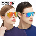 Retro Men's TR90 Polarized Sunglasses Mirrored Lens Driving Outdoor Sun Glass Fashion Women Large Frame Eyewear oculos with case