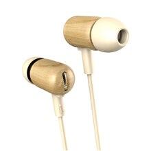 New Original DZAT DF-10 Wooden Stereo Headphones Headset DIY Super Bass HiFi Earphones With Microphone For Music Gift Packaging