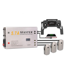 MASiKEN Multiple 5 in 1 Intelligent Battery Charger for DJI Mavic Pro /PLATINUM Drone AC Fast Chargers with US/EU Plug