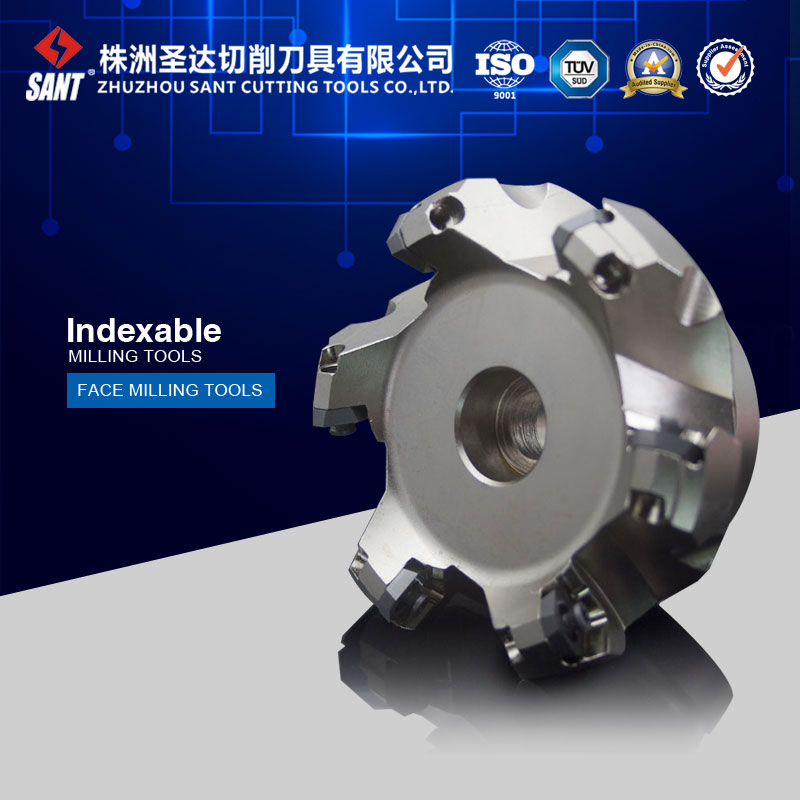 Indexable milling cutter milling tools Match insert SEET12T3 face cutter cutting disc FMA01-080-A27-SE12-06/AF01.12A27.080.06