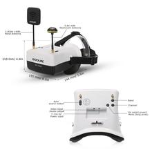GoolRC VR FPV Goggles HD01 5.8G 40CH Duo Antennas Video Glasses for QAV250 FPV Racing Drone H501S Inductrix QX95 NH010 Quadcopte