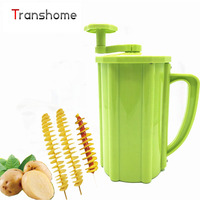 2016 Popular Korean Tornado Potato Slicer Manual Twist Spiral Potato Cutter Whirlwind Potatoes Machine Potato Vegetables