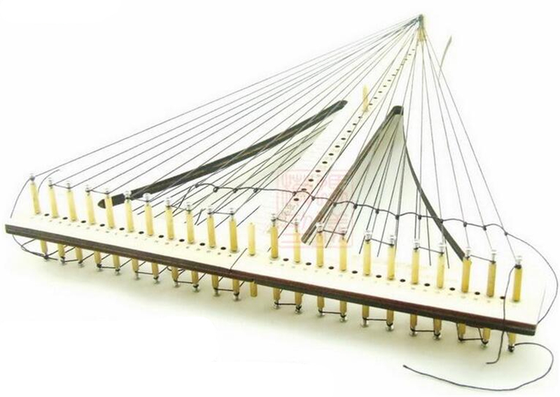 Sailboat model tool the Rope ladder weaver rope crochet COMBO wooden Tool