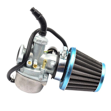 Universal Carburetor Fuel Filters Carb 50cc 70cc 90cc 110cc 125cc ATV Dirt Bike Go Kart W/ Air Filter Motorcycle Scooter Choke