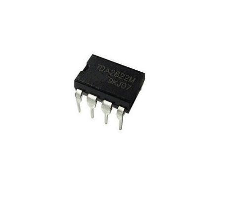 100PCS TDA2822M SCS2822 12V DIP-8 TDA2822 VOLTAGE POWER AMPLIFIER IC A+