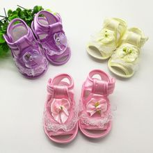 New Sweet Baby First Walkers Shoes Infant Toddler Girls Princess Shoes Fashion Summer Newborn Baby Crib Kids Bebe Shoes Footwear
