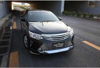 MONTFORD For Toyota Camry 2015 2016 Auto ABS Chrome Grille Modify Front Grilles Shiny Front Center