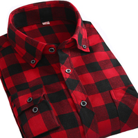 Alimens Plaid Shirt Men Long Sleeve High Quality 100 Cotton Slim Fit Style Casual Shirts Button
