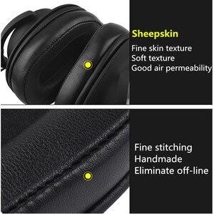 Image 5 - استبدال الأغنام جلد رغوة بطانة للأذن وسائد الصوت وتكنيكا ATH MSR7 ATH M50x لسوني MDR 7506 MDR V6 9.17