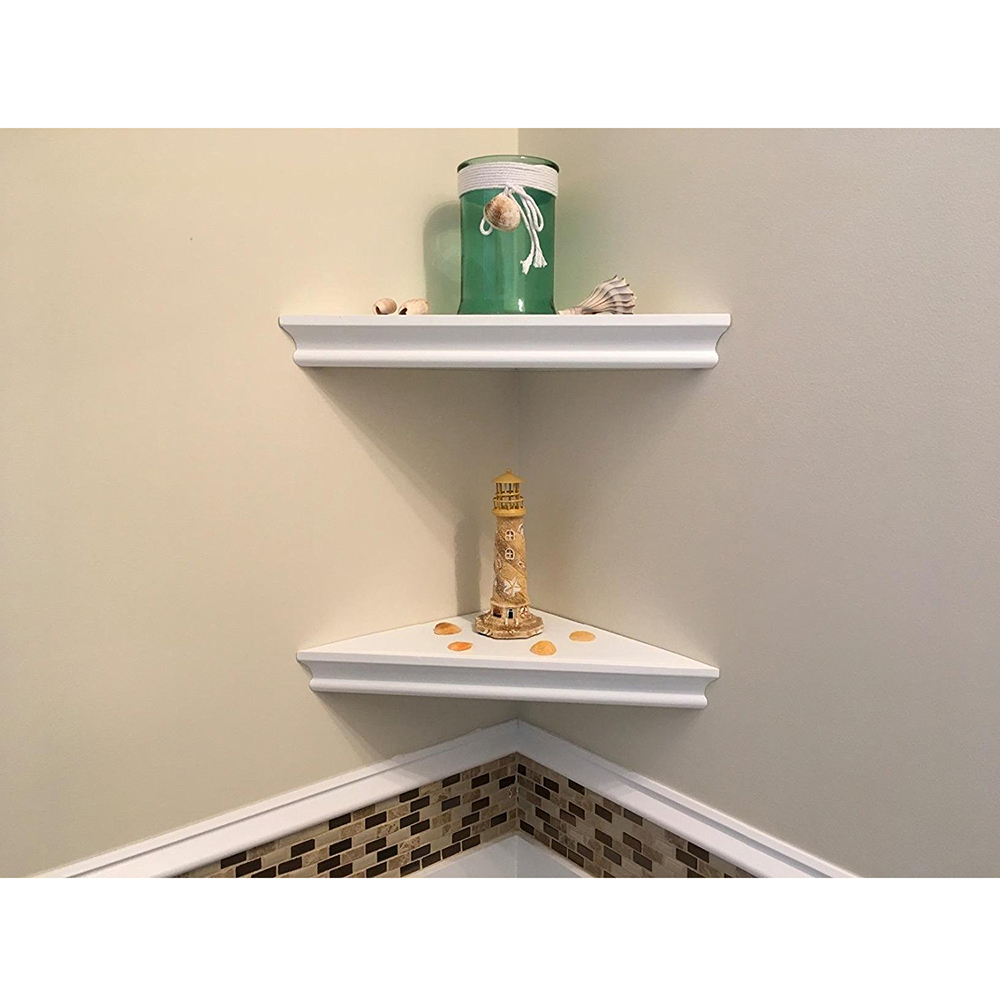 2PCS/SET Modern Design Wall Mounted Floating Corner Wall
