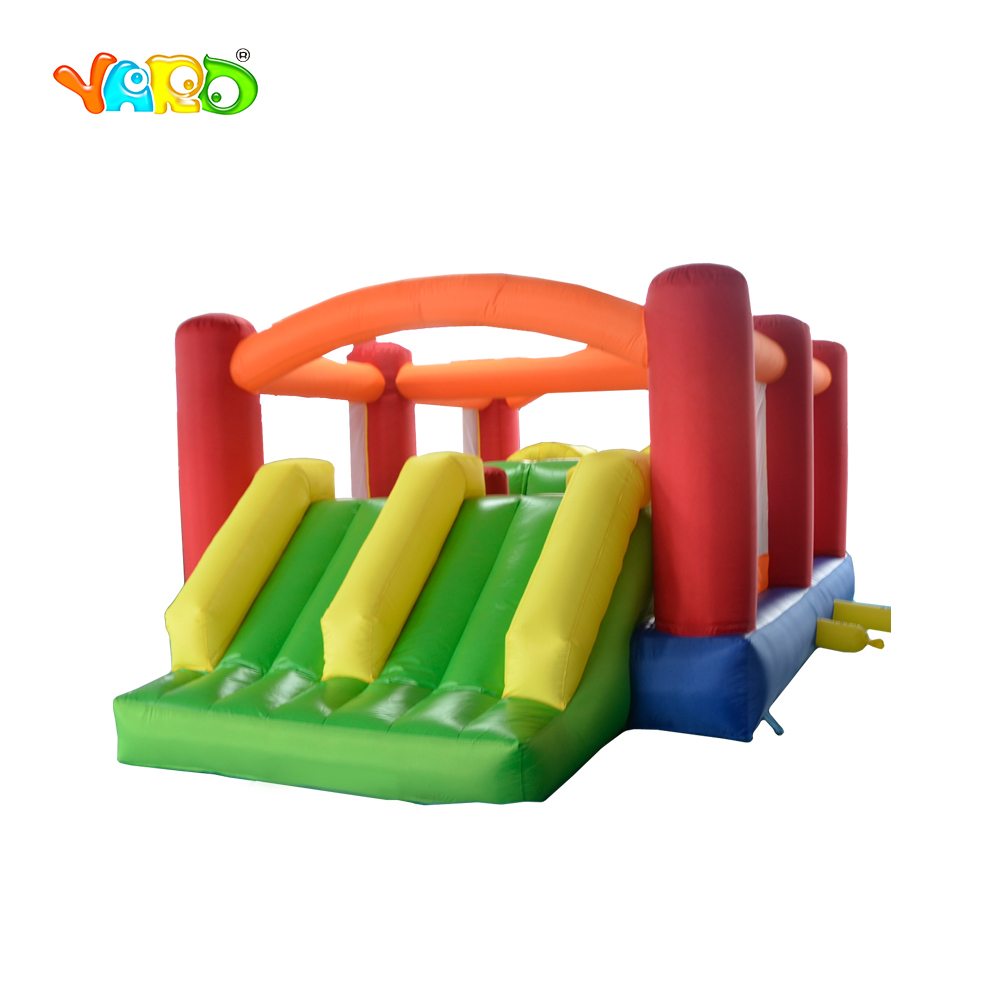 YARD Large Children Inflatable Obstacle Course Jumping Castle Playground Inflatable Bouncer Combo with Slide for sale large inflatable slide with firetruck theme inflatable bouncer