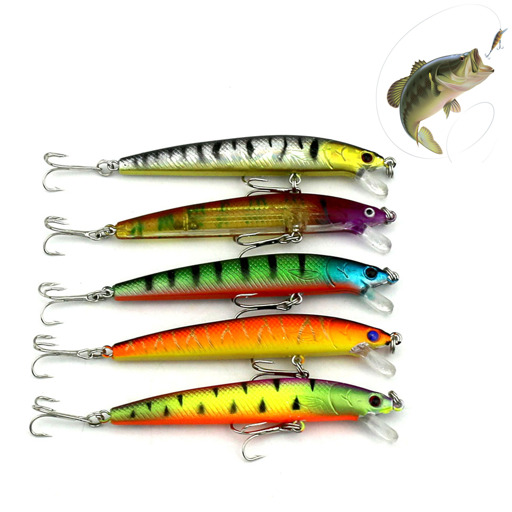 43pcs/lot Fly Fishing Lure Set Hard Bait Jig Lure Wobbler Carp Fishing Tack High Carbon Steel Hooks 6 Models Hard Bait Fish Tool mnft 1 bottle of 40g viscose bait carp glue gluey fishing lure tool