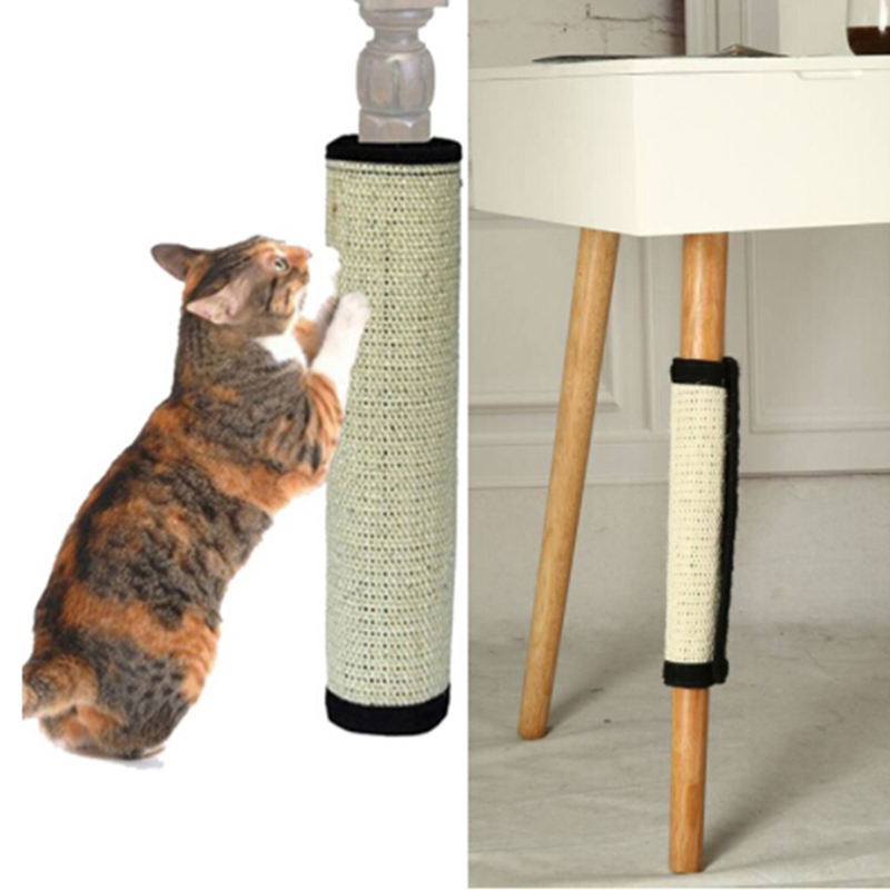 cat scratch pad board protecting furniture foot natural sisal cat scratching post toy for cats. Black Bedroom Furniture Sets. Home Design Ideas