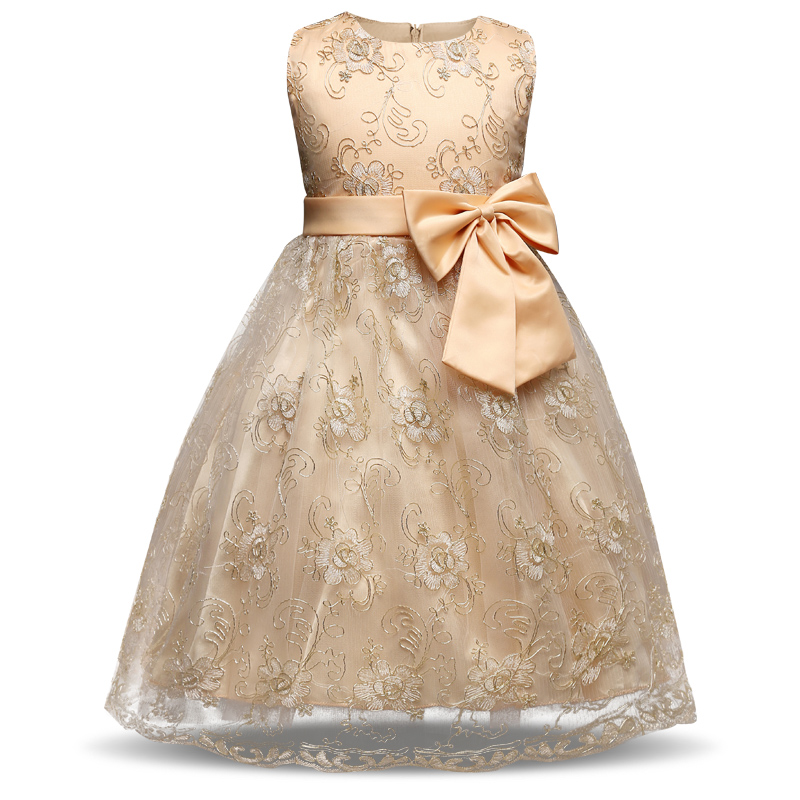 Formal Events Party Dress For Girl Clothes Fancy Kids Prom Gown Designs Children Princess Dresses Girls Kids Baby 3 4 5 6 7 year pretty baby girls kids princess party denim tulle stitching gown fancy dress 3 8y