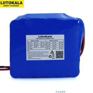 Image 2 - LiitoKala 12V 20Ah haute puissance 100A décharge batterie pack BMS protection 4 ligne sortie 500W 800W 18650 batterie