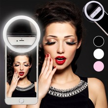 Rovtop 36 LED Lamps Selfie Light For Iphone Supplementary Lighting Night Darkness Selfie Ring Enhancing For All Smartphone-in Photographic Lighting from Consumer Electronics on Aliexpress.com | Alibaba Group