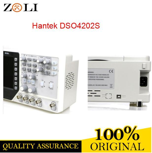 Best Offers DSO4202S Hantek 2 Channel Digital Oscilloscope + Arbitrary Hantek DSO4202S 7 inch 64K color LCD display DSO4202S
