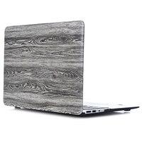 RYGOU Wood Texture Modello PU Cuoio Rivestito Custodia In Plastica Dura per Macbook Air Pro Retina 11 12 13 15 pollice Pro 13.3 15.4 Copertina