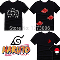 Naruto T-Shirt Anime T Shirt Akatsuki Kakashi Gaara Hokage Uchiha Itachi Sasuke Sharingan Men Child Gift Tshirt S - XXL Cosplay