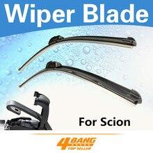 Car-Styling 2PCS 14″+26″ For Scion XD 2008-2011 Bracketless Frameless Windshield Wiper Blades Soft Rubber