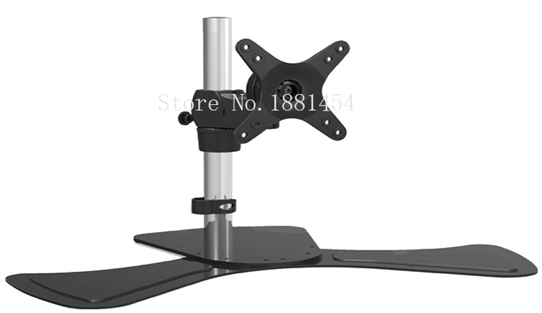 Firm Strong Laptop Computer Stand Single LCD LED Monitor font b TV b font Bracket font