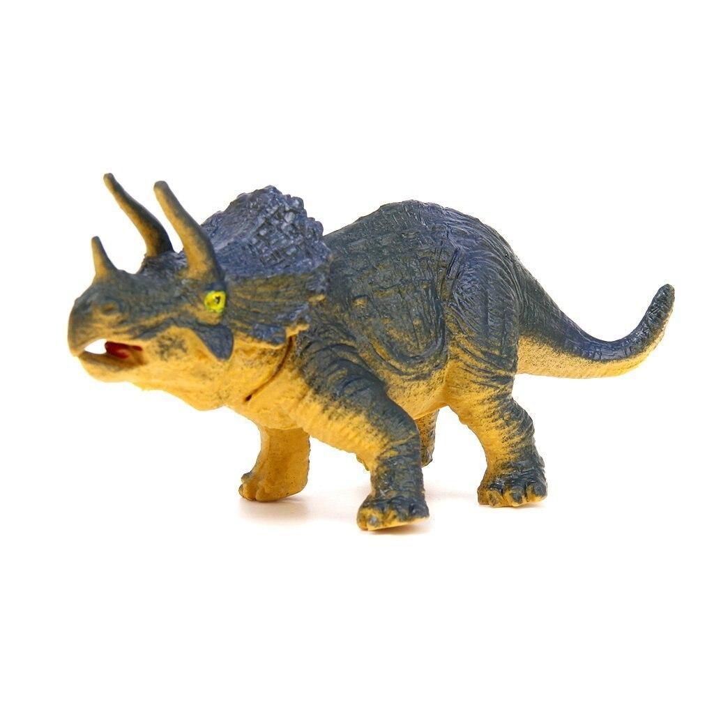 6 шт. Животные динозавры развивающие игрушки Tyrannosaurus Stegosaurus Triceratops utahraptor Spinosaurus pterosaure