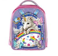 My Little Pony Children School Bags For Girls Draculaura Frankie Stein Anime Backpack Kindergarten Bag