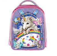 My Little Pony Children School Bags For Girls Draculaura Frankie Stein Anime Backpack Kindergarten Bag