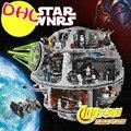 Lepin 05035 star wars estrella de la muerte 3804 unids 10188 bloques de construcción juguetes compatible con lego