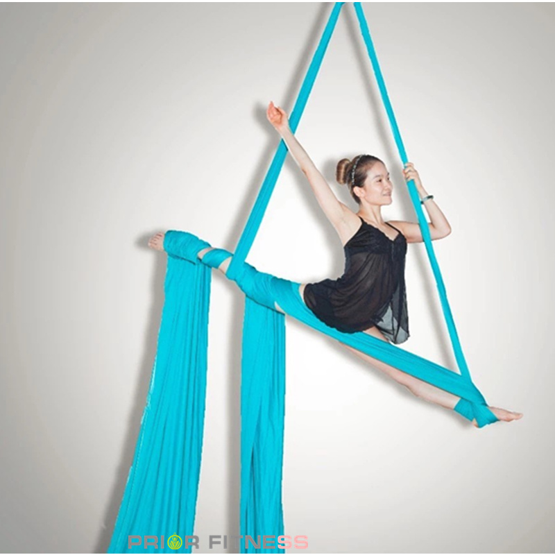Permalink to Prior Fitness High quality 11 Yards/10M Aerial Silk Fabric High Strength Flying Silk Kit -(20 colors)-100% Quality guarantee