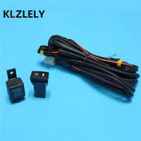 Beler Wiring Harness Wire Sockets + Switch For H11 Fog Lamp For Infiniti G25 G37 M37 M56 Q70 QX5 Q60
