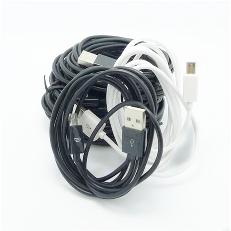 2M 3M Micro USB Data Sync Charging Cable For Samsung Galaxy S2 S3 S4 For HTC