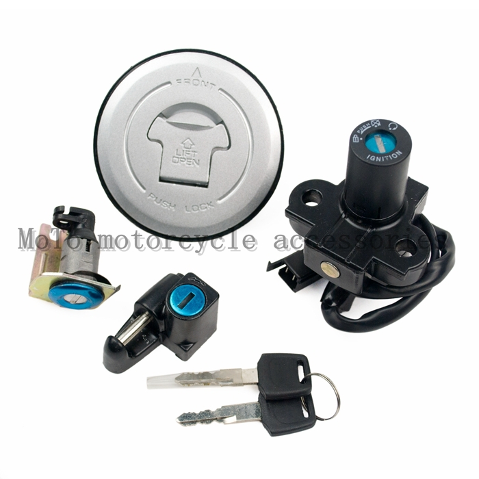 For Honda Hornet 250 VTR250 Small Honret250 Tank Cap Fuel Tank Lock Motorcycle Lock Sets Motorcycle Parts