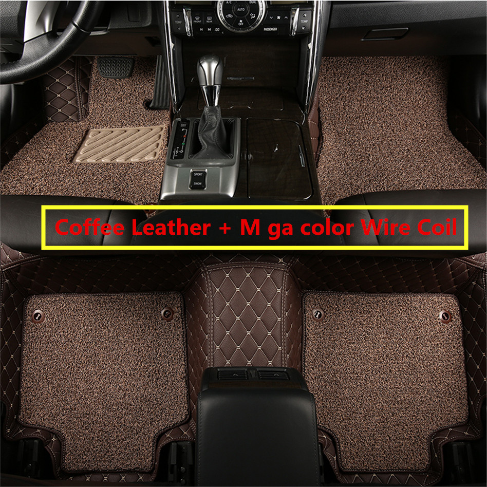 Rubber mats discovery 4 - Auto Floor Mats For Land Rover Range Rover 2007 2012 Foot Carpets Car Step Mat