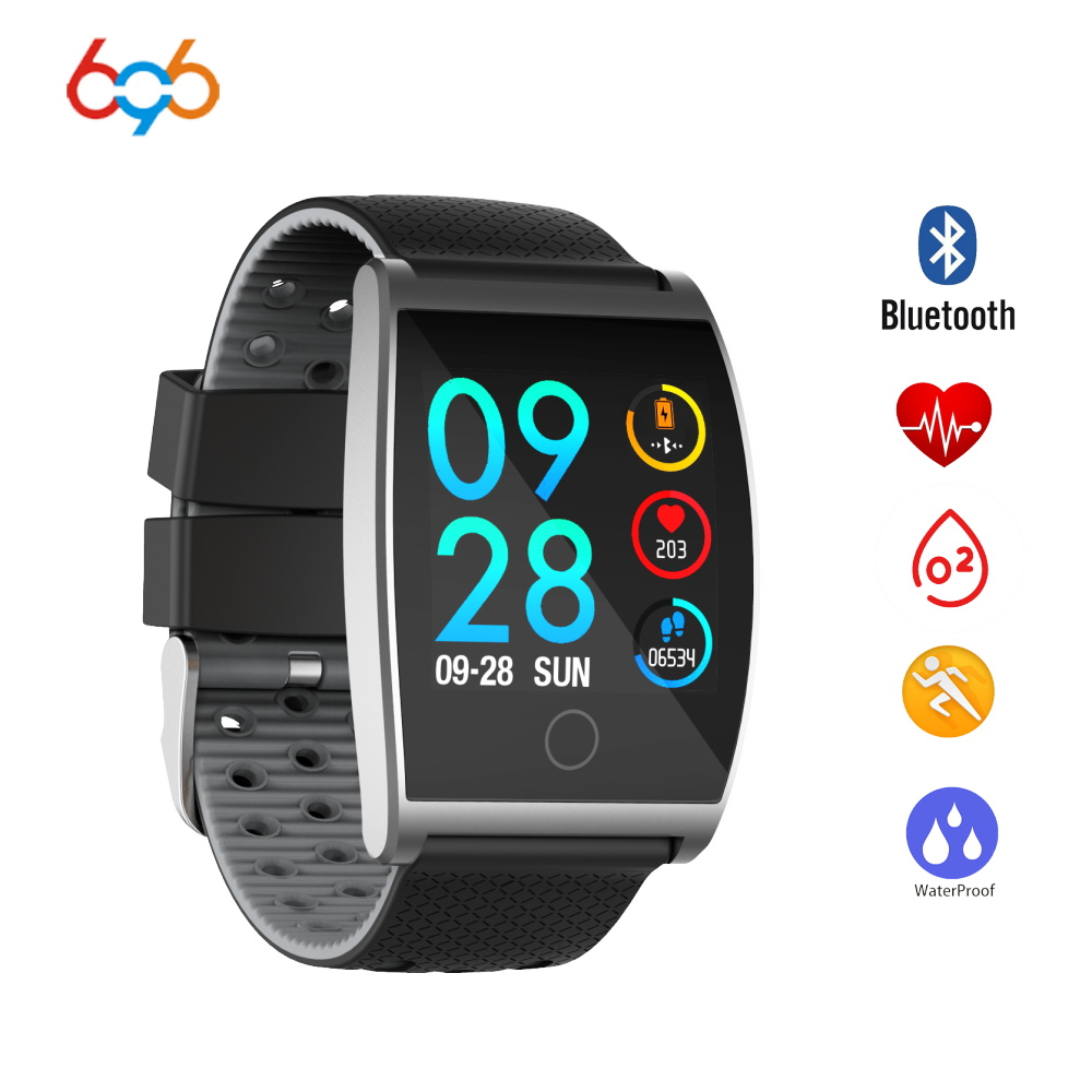 696 QS05 Bluetooth Sports SmartWatch Heart Rate Blood Pressure Oxygen Alarm Clock Tracker For Android & IOS Smart Band Bracelet696 QS05 Bluetooth Sports SmartWatch Heart Rate Blood Pressure Oxygen Alarm Clock Tracker For Android & IOS Smart Band Bracelet
